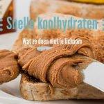 bloedsuikerspiegel en snelle koolhydraten