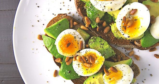 avocado op brood