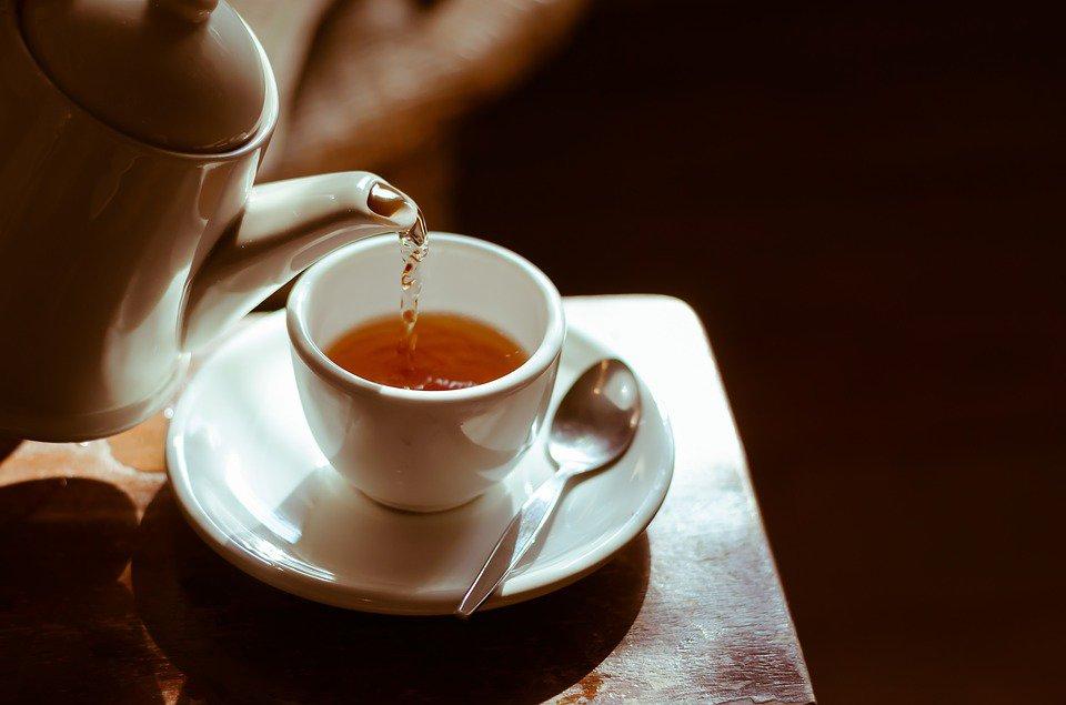 last van griep groene thee