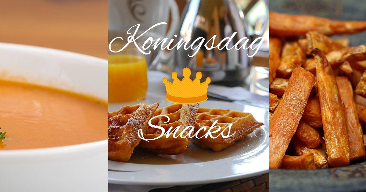 Gezonde koningsdag snacks!