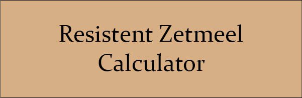 Resistent Zetmeel Calculator