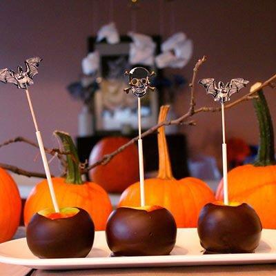 Gezonde halloween hapjes appel