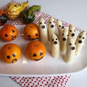 enge halloween hapjes fruit