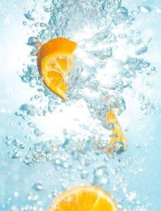 Gezonde drankjes water