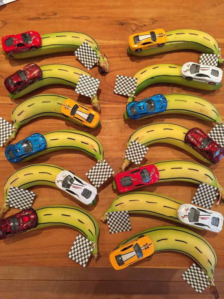 Gezonde traktatie banaan